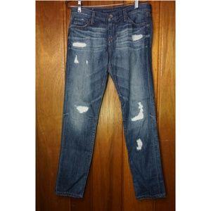 Banana Republic Women's Denim Jeans Ripped